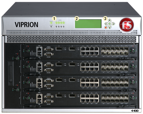 AskF5 | Manual Chapter: The VIPRION 4400 Series Platform