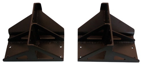 Center-mount brackets for 23-inch rack