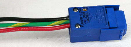 Fully-assembled and wired terminal block