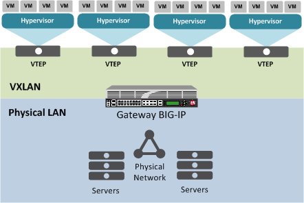 The VXLAN gateway