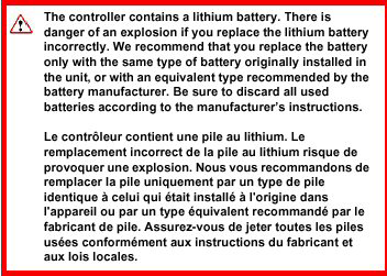 Battery guidelines