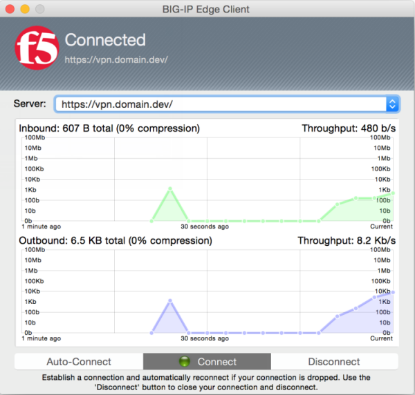 Ask F5 | Manual Chapter: BIG-IP Edge Client for Mac