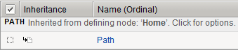 Inheritance example for Path parameter