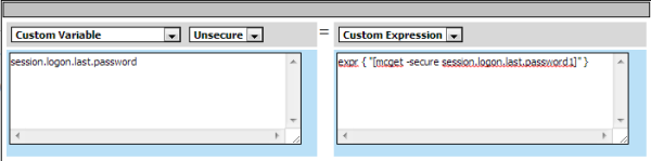 Variable Assign add entry screenshot